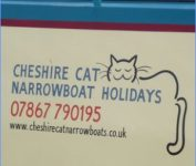 Cheshire Cat Narrowboat Holidays 07867 790195