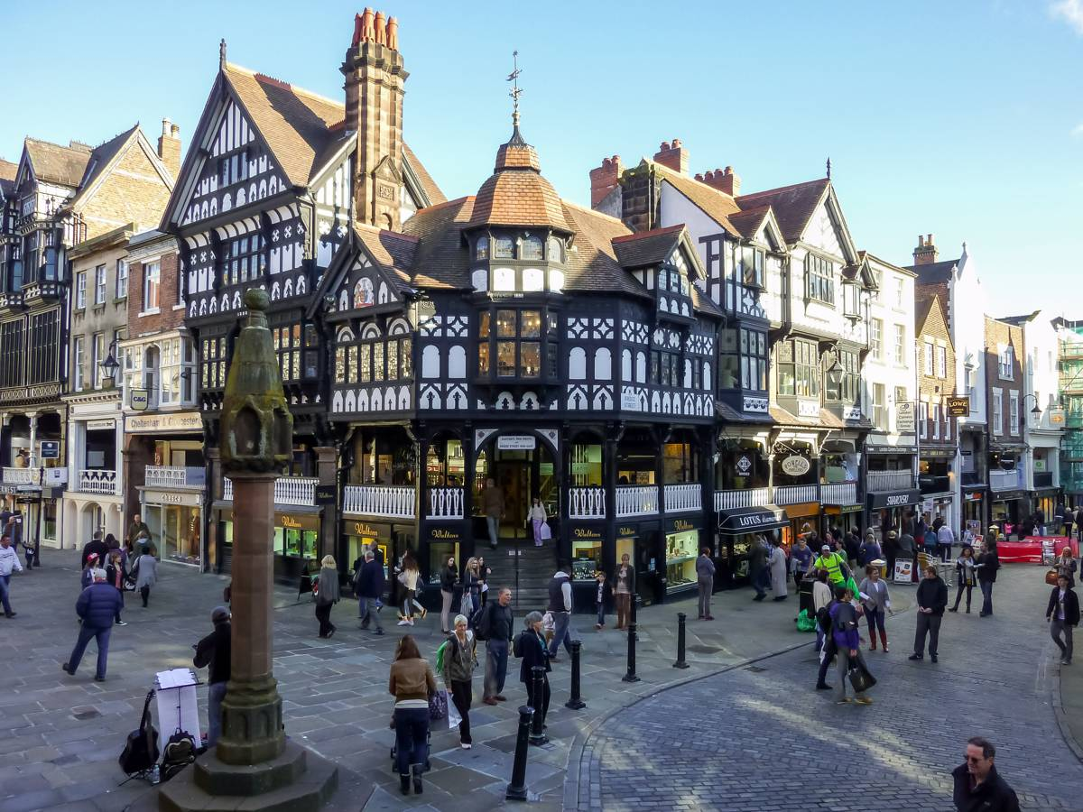 The Cross, Chester City Centre - Photo by Mathew Hartley