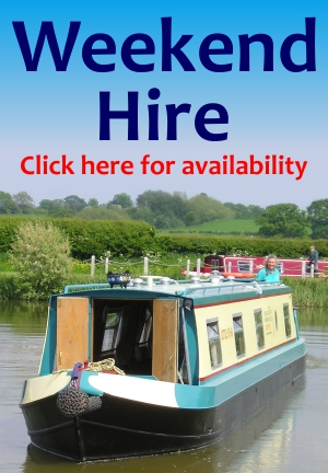 Cheshire Cat Weekend Boat