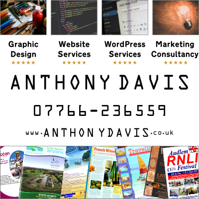 Anthony Davis - Graphic Design, Website Services, Wordpress Services and Marketing Consultancy