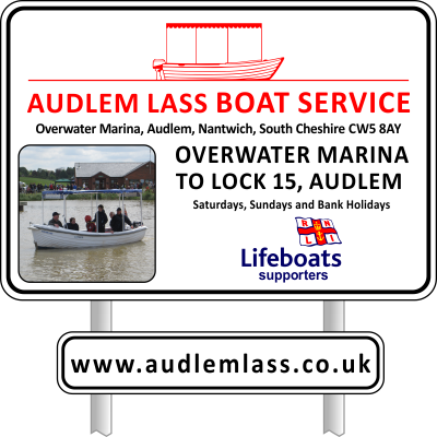 Audlem Lass Boat Service - South Cheshire
