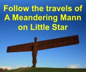 Follow the travels of Meandering Mann on Little Star
