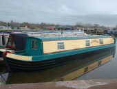 Cheshire Cat Narrowboats - Witch Hazel